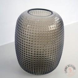 Vase bulle  kaki