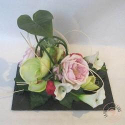 ardoise fleurie fleurs intemporelles