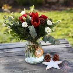 Bouquet Joyeux Noël par La Ronde des Fleurs
