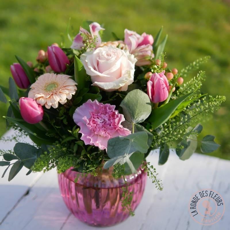 liberty bouquet de fleurs pastel la ronde des fleurs