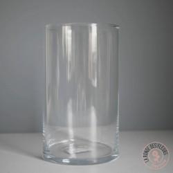 Vase cylindre en verre
