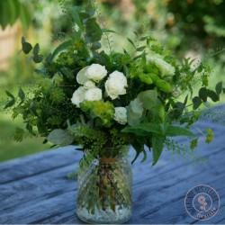 bouquet fleurs citron vert
