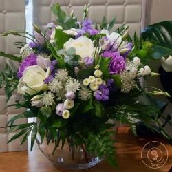 bouquet-ultra-violet-la ronde de fleurs