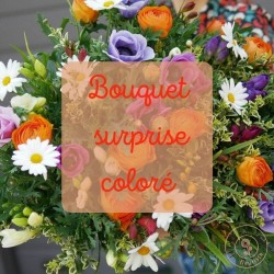 bouquet surprise coloré