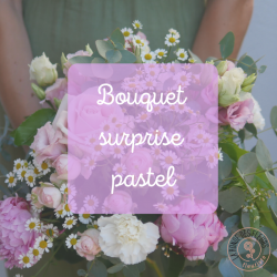 Bouquet surprise pastel