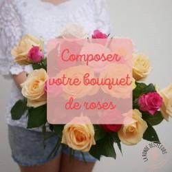 bouquet de roses personnalisé la ronde des fleurs rennes
