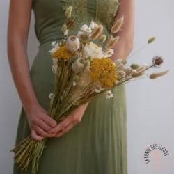 ocre fleurs séchées