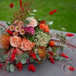 un joli bouquet coloré et festif la ronde des fleurs