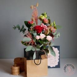 bouquet d'amour la ronde des fleurs rennes