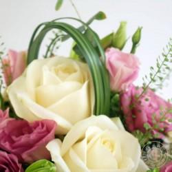 Composition Lili Rose - Ronde des fleurs