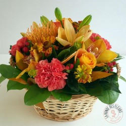 Panier d'Automne - Ronde des fleurs