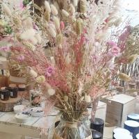 🌸🤍🌿 Nos bouquets de fleurs séchées plein de douceur!  #rennes #fleuristerennes #larondedesfleurs_rennes #fleursséchées #vivementlété #douceur #poesie #tendresse #clickandcollect